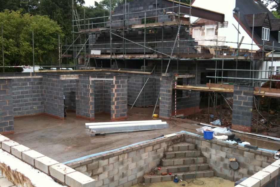 Swimming Pool Extension : Jewel builders ltd award winning swimming pool and house
